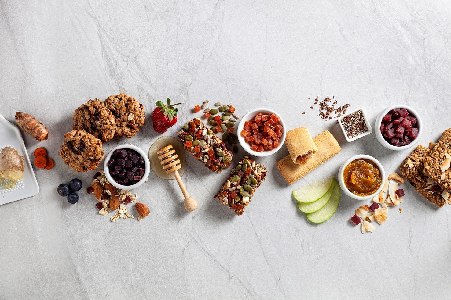 Nutrition bars ans snacks